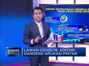 Lawan Covid-19, Jokowi Gandeng Aplikasi Pintar