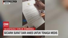 VIDEO: Secarik Surat Dari Anies Untuk Tenaga Medis