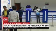VIDEO: Polisi Kurangi Aktivitas Pengurusan SIM
