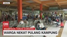 VIDEO: Warga Nekat Pulang Kampung