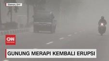 VIDEO: Gunung Merapi Kembali Erupsi