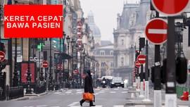 VIDEO: Kereta Cepat di Perancis Angkut Pasien Corona