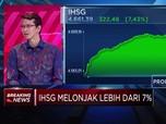 Lanjutkan Penguatan, IHSG Terus Melonjak Lebih dari 7%