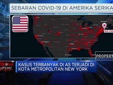 Amerika Serikat Catatkan Kasus Corona Melebihi China
