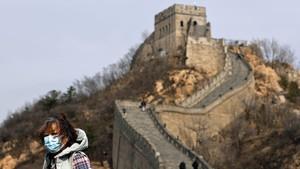 FOTO: Geliat Tembok Besar China Usai Diterpa Corona