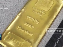 Pukul 14:58 WIB Harga Emas Dunia Tergelincir Aksi Jual