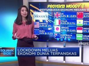 Lockdown Meluas Ekonomi Dunia Terpangkas