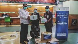 Pupuk Indonesia Beri Bantuan APD untuk Nakes RS Cengkareng