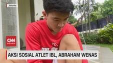 VIDEO: Aksi Sosial Atlet IBL, Abraham Wenas
