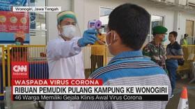 VIDEO: Ribuan Pemudik Pulang Kampung ke Wonogiri