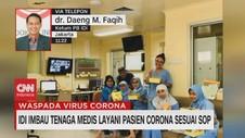 VIDEO: IDI Imbau Tenaga Medis Layani Pasien Corona Sesuai SOP