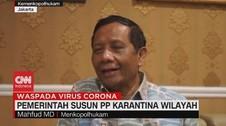 VIDEO: Pemerintah Susun PP Karantina Wilayah