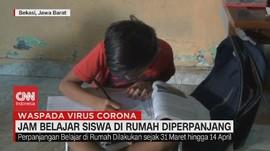 VIDEO: Jam Belajar Siswa di Rumah Diperpanjang