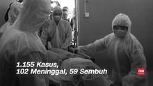 VIDEO: Positif Corona di Indonesia Bertambah Jadi 1.155 Orang