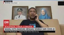 VIDEO: Wakil Wali Kota Bandung Sembuh dari Covid-19