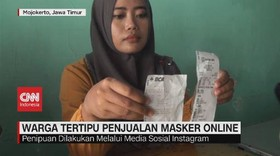 VIDEO: Warga Tertipu Penjualan Masker Online
