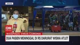 VIDEO: 2 Pasien Meninggal di RS Darurat Wisma Atlet
