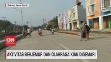 VIDEO: Aktivitas Berjemur & Berolahraga Kian Digemari