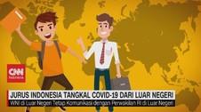 VIDEO: Jurus Indonesia Tangkal Covid-19 Dari Luar Negeri