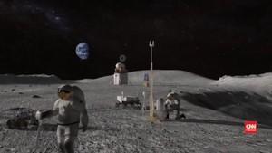 VIDEO: NASA Mulai Bangun Stasiun di Orbit Bulan pada 2022
