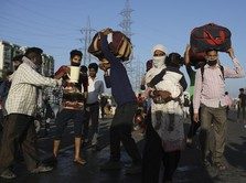 India Perpanjang Lockdown, Si Miskin Meninggal di Jalanan