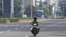 PSBB Jakarta Larang Ojol Bawa Penumpang
