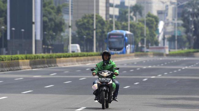 PSBB Jakarta Melarang Ojol Membawa Penumpang