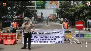 Kasus Baru Covid 19 Di Bandung Berkurang Efek Terapkan Psbb