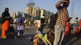 Pemda di India Gelontorkan Rp1.32 T untuk Warga Saat Lockdown