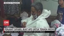 VIDEO: Penjahit Difabel Buat APD untuk Tenaga Medis
