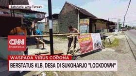 VIDEO: Berstatus KLB, Desa Sukoharjo Lockdown