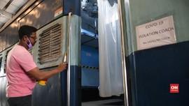VIDEO: India Ubah Gerbong Kereta untuk Tampung Pasien Corona