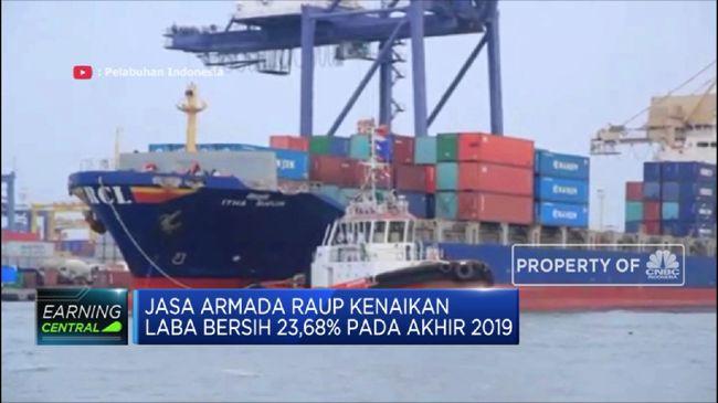 IPCM Jasa Armada Raup Kenaikan Laba Bersih 23,68%