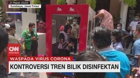 VIDEO: Bahaya Penggunaan Bilik Disinfektan