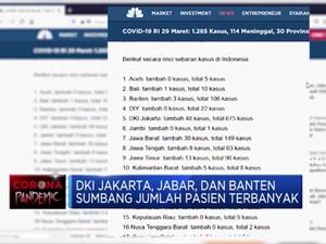 Sudah 30 Provinsi di Indonesia Terjangkit Corona