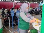 Lawan Corona, BPJS Tembilahan Sediakan Wastafel Untuk Umum