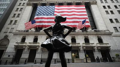 Wall Street New York Kosong Melompong