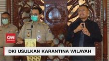 VIDEO: Anies: DKI Jakarta Usul Karantina Wilayah