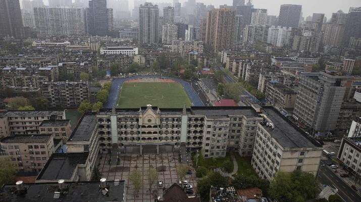 Masa lockdown Wuhan resmi berakhir 8 April ini.