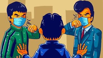 Gambar Animasi Karyawan Bank Mandiri Segera Cek Bank Multifinance Mulai Longgarkan Cicilan Nih