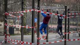 FOTO: Olahraga, Upaya Tetap Sehat dan Waras Selama Pandemi