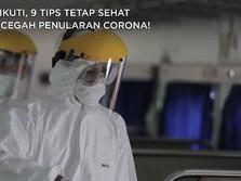 Yuk Ikuti, 9 Tips Tetap Sehat dan Cegah Penularan Corona!