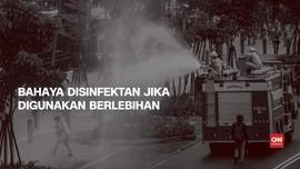 VIDEO: Bahaya Disinfektan Jika Digunakan Berlebihan