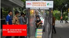 VIDEO: Disinfektan Chamber Berbahaya Bagi Manusia