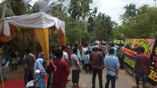 Cegah Corona, Pesta Pernikahan di Aceh Utara Dibubarkan