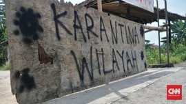Cegah Corona, Sejumlah Desa di Sleman Tutup Akses Jalan