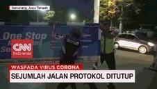 VIDEO: Pembatasan Akses Jalan Protokol di Bandung & Semarang