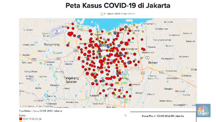 Jumlah kasus positif virus corona Covid-19 di Jakarta pada hari ini bertambah 157 kasus. Total yang terkonfirmasi positif corona kini mencapai 1.552 orang.