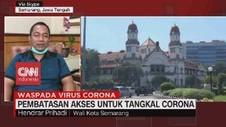 VIDEO: Pembatasan Akses untuk Tangkal Corona di Semarang