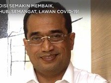 Kondisi Membaik, Menhub Budi Karya: Lawan Covid-19!